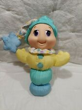 "Hasbro Playskool 1997 Gloworm Glow Worm 10"" Pastel, Works"