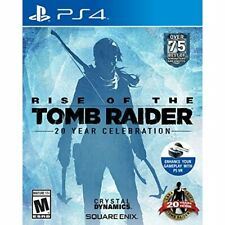 Rise Of The Tomb Raider: 20 Year Celebration For PlayStation 4 Ps4