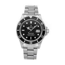 Rolex Submariner Auto 40mm Steel Mens Oyster Bracelet Watch Date 16800