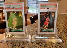 2 card lot 1992 Michael Jordan Fleer Ultra 216 Basketball Card PSA 9 MINT  PSA 8