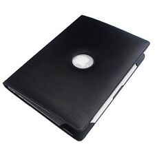 "NEW Black Leather Book Cover Case for Macbook AIR 13"" inch"