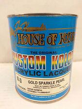 R3 GOLD SPARKLE PEARL-LACQUER House of Kolor Auto Paint 1 Quart