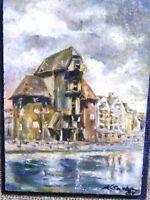 Öl Gemälde - Janina Kraupe Swiderska -R55