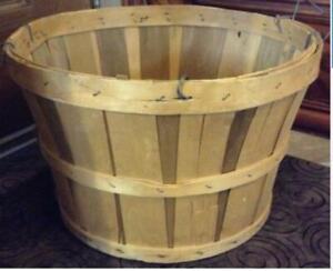 """14"""" Wooden Basket"""