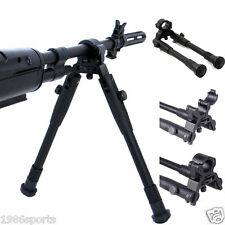 Universal Foldable Clamp-on 8-10in Bipod Adjustable Height FOLDABLE Barrel #5836