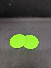 "Air Hockey Puck - 2.5"" Green - Dynamo - 2 pack"