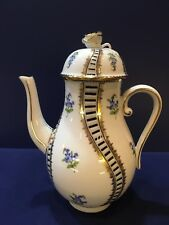 Herend Coffee Pot - Myosotis - Very Rare Pattern