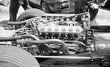JOCHEN RINDT COOPER MASERATI CAR PHOTOGRAPH ENGINE MONACO GRAND PRIX 1967 F1