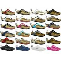 Birkenstock GIZEH Ladies Womens Toe Post Slip On Summer Beach Holiday Sandals