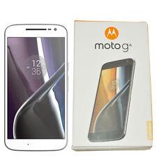 BNIB Motorola Moto G4 XT1622 16GB White Factory Unlocked Dual-SIM 4G LTE OEM New