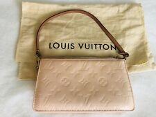 Louis Vuitton Lexington Monogram Vernis Pearl Handbag Pochette Clutch Purse Bag