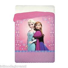 Trapunta invernale Disney Frozen Elsa e Anna Piumone 180x260cm imbottitura 320gr