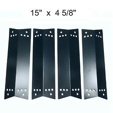 Gas Grill Porcelain Steel 4 Heat Plates Shield Kenmore K-Mart  BBQ Parts 90681