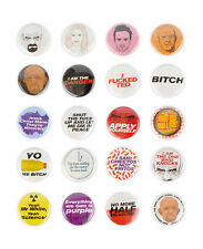 Breaking Bad Badge Set! Complete Walter White Heisenberg Jesse Pinkman pins