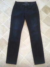 WOMENS GUESS JEANS, SIZE 29, BRITTNEY-SKINNY, COTTON/POLYESTER, DARK BLUE, #608