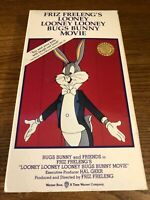 Looney Looney Looney Bugs Bunny Movie VHS VCR Video Tape Friz Freleng Used RARE