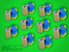 10 x SH418 Ölfilter NSU TT TTS PRINZ 600 1000 1200 BMW E10 1500-2000