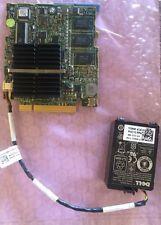 H145K  Dell PERC 6/i SAS RAID CONTROLLER DELL M SERIES BLADES w/ BATTERY H145K