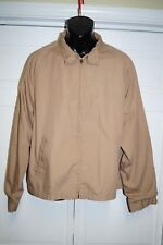 CAMPUS All Weather Unisex BEIGE Jacket SIZE XXL FULL ZIP MADE IN USA EUC