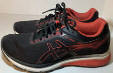 ASICS GT-1000 7 Running Shoes, Men's Size 7.5 M, Black And Red