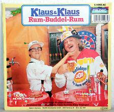 """7"""" Vinyl KLAUS & KLAUS - Rum-Buddel-Rum"""