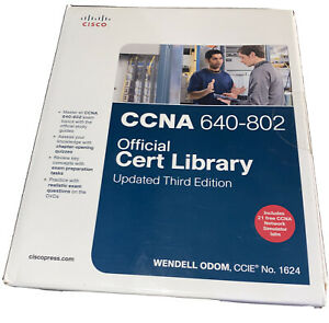 CCNA 640-802 Official Cert Library, Assessment, Review & Practice Package Nib