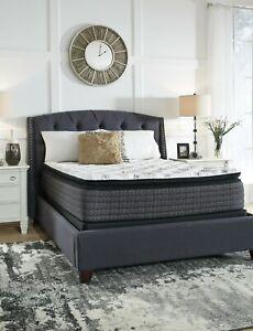 Ashley Queen Pillow Top Mattress 13 inch plush