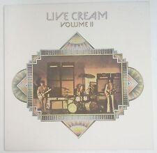 Cream  Live Cream Volume II LP España reedición 1980  Eric Clapton