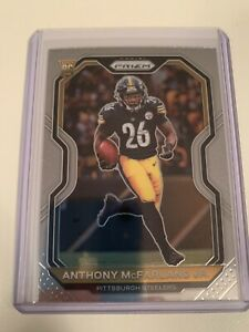 2020 Panini Prizm  #393 Anthony Mcfarland Jr. Base Rookie RC Pittsburgh Steelers