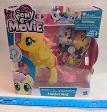 "My Little Pony the Movie FLUTTERSHY Shining Friends Light Up NEW Large 6"" Size"