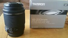Tamron B018 18-200mm F/3.5-6.3 Di II VC Lens For Canon