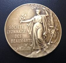 FRENCH / Bronze Medal / SOCIETY of ART / 1935 / 39 mm / M60