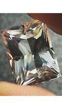 Natural Genuine Rare White Colorless Beryl 7.29 Carats Loose Gemstone Goshenite