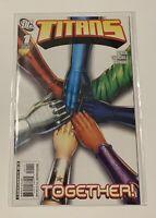 Dc Comics Titans #1 Cover A Churchill Cover Nightwing Raven Vol 1