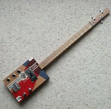 More details for avo uvezian 3 string electric cigar box guitar