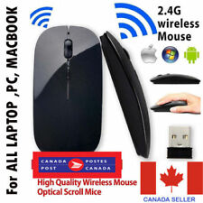 New 2.4G Wireless Optical Mouse Mice For Computer PC Laptop Desktop+ USBReceiver