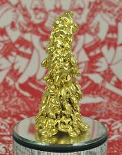 Gold Thong Pra lai LEKLAI deity God Statue AMULET Jewel Fetish wealth talisman