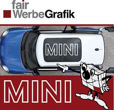 Aufkleber/ Sticker/ Dachbeschriftung / Dekor/ Mini Cooper / #073