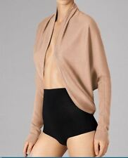 WOLFORD FINE MERINO CARDIGAN JACKET, SMALL, PINK, 100% VIRGIN WOOL, New in box