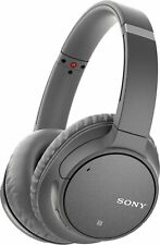 Sony - Wh-Ch700N Wireless Noise Cancelling Over-the-Ear Headphones - Gray