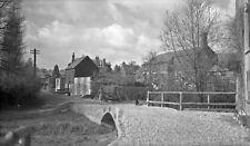 B/W Negative West Harnham Wiltshire Bridge 1945 +INC © DB483