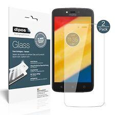 2x Lenovo Moto C Plus Screen Protector Flexible Glass 9H dipos