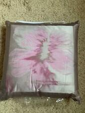 "$200! NEW Waterford Fleurology Couture Made in Italy Pink 18"" Decorative Pillow!"