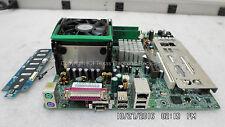 Sony P4SD-VX Motherboard w/ 512MB RAM, SL6WJ 2.80GHz CPU Heatsink Fan I/O Panel