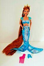 Jewel Hair Mermaid Barbie Midge Doll,Complete,Original Mermaid Outfit,1990's