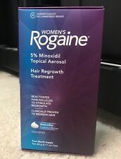 Women's Rogaine Foam Hair Regrowth Treatment 4 Month Supply, Exp. 06/2021.
