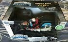 Skylanders Remote Control vehicle Fiesta and Crypt Crusher. In the packaging.