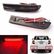 2x Rear Bumper Reflector LED for Toyota Avensis Previa Fog Lamp Stop Brake Light