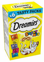 Dreamies Christmas Cat Treats SuperMix Of Tantalising Treats