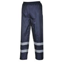 Pantaloni da uomo blu in poliestere taglia M